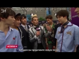 [RUS SUB][21.05.18] BTS Tells Frankie Grande How Much They Train, Who They're Excited To Meet @ BBMAs Red Carpet