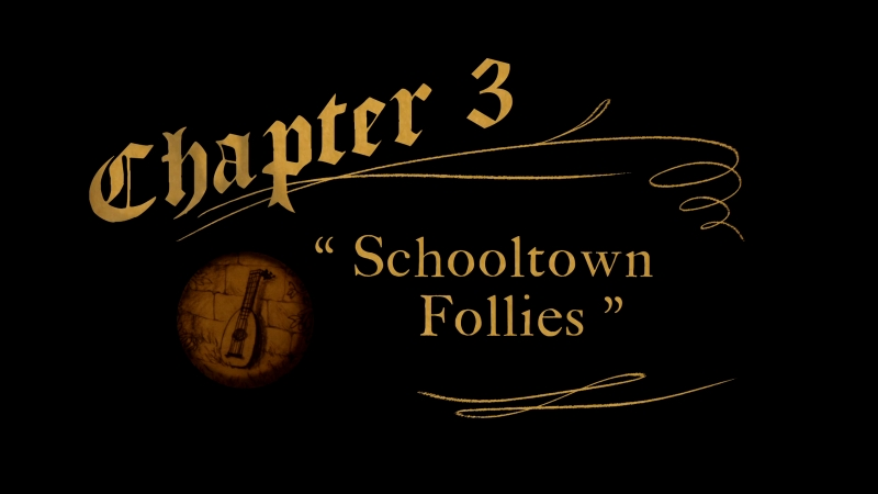 Over the Garden Wall. Chapter 3: Schooltown Follies