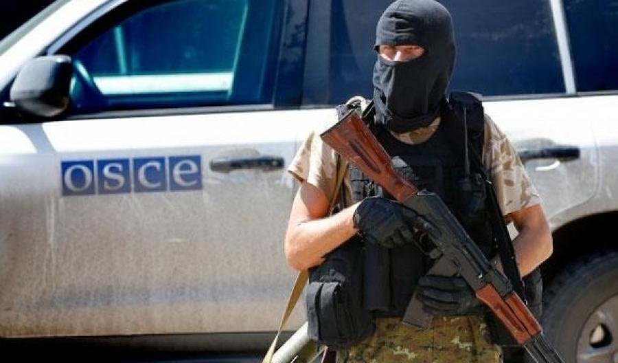 Боевики не дали проехать наблюдателям ОБСЕ на свой блок пост под Горловкой