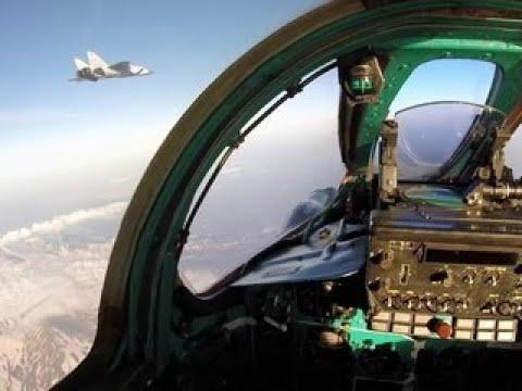 Бой в стратосфере на сверхзвуке: на Камчатке МиГ-31 отработали перехват нарушителей - Вести 24