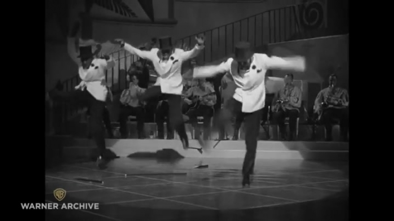 The Berry Brothers, making a stunning entrance in the 1942 film Panama Hattie