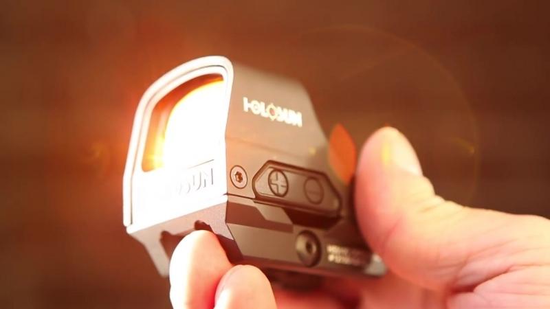 Лучший коллиматорный прицел года - Holosun HS510C
