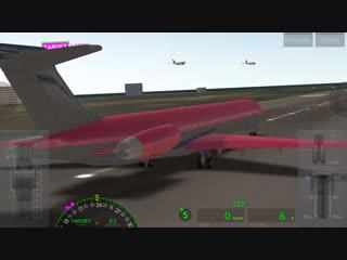 Параллельная посадка #1 // Airline Commander