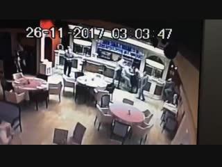 Стрельба в ресторане Астория г.Армавир
