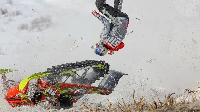 The Best Snowmobile Fails || Sleds Fail/Win Compilation 12