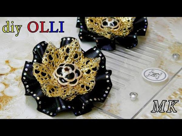 DIY Бантики в складочку при помощи шаблона Moño Laço Fita De Cetim Bows DIY смотреть онлайн без регистрации