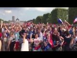 Как фанаты праздновали победу Франции в Чемпионате мира #Ф2018