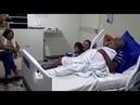 Criança de quatro anos, fã de Pinto de Acordeon, o visita no hospital e canta Neném mulher