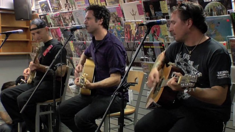 The Bouncing Souls - Just Like Heaven (acoustic) HD - Generation Records Instore