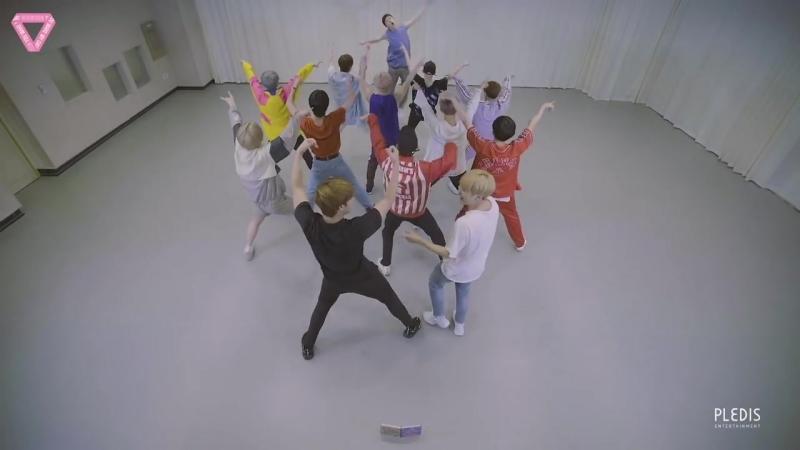 Seventeen - Oh My! (Dance Practice) (Rearview Ver.)