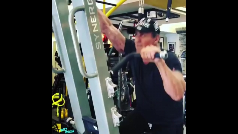 71 year old Sylvester Stallones insane workout age is a number
