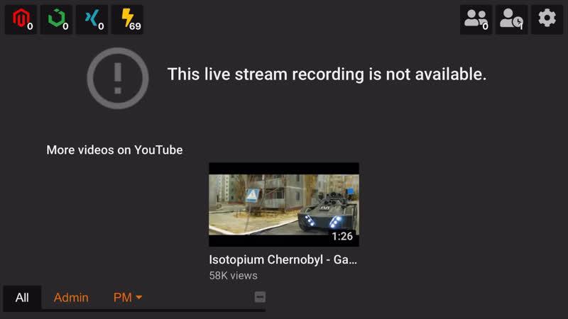 Checking in on Chernobyl (isotopium: Chernobyl)
