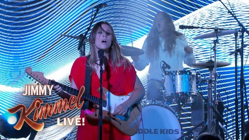 Middle Kids - On My Knees (Jimmy Kimmel Live)