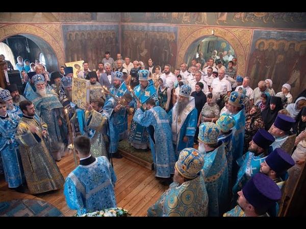 В день своего рождения митрополит Иоанн совершил Божественную литургию