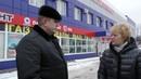 Делегация ОНФ во главе со Светланой Калининой повторно проинспектировала улицы Курска