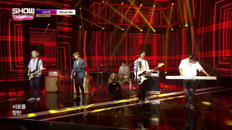 [180711] DAY6 - Shoot Me @ Show Champion