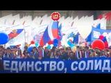 В Москве на первомайские демонстрации вышли более 100 тысяч человек. Кадры с дрона