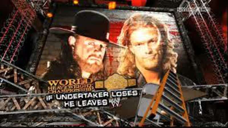 WWE One Night Stand 08 The Undertaker vs Edge highlights