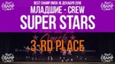 SUPER STARS | Младшие Crew | 3rd Place | Best Champ Omsk 16 December 2018