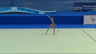 Sofia Agafonova - Clubs/Russian Junior Championship 2019 AA/17.80