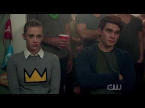 Riverdale 1x10 Jughead punches Chuck Scene, Jughead and His Father Scene, and more