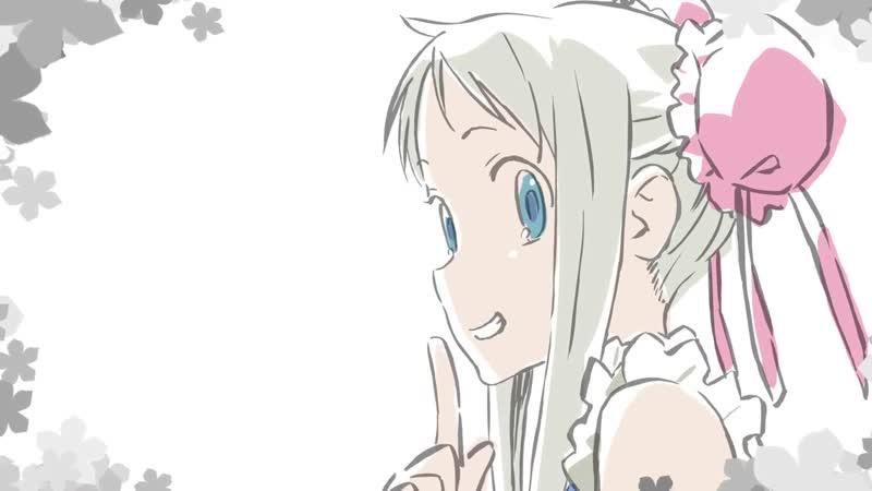 AnoHana Picture Drama Menma e no Tegami Ano Hi Mita Hana no Namae wo Bokutachi wa Mada Shiranai