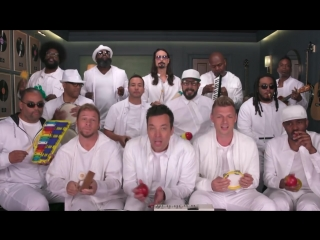 Jimmy Fallon, Backstreet Boys The Roots Sing I Want It That Way (Classroom Instruments)