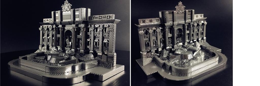 Конструктор MCG Model Фонтан Треви 70012