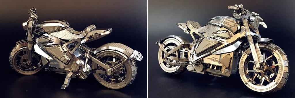Конструктор MCG Model Мотоцикл 70013