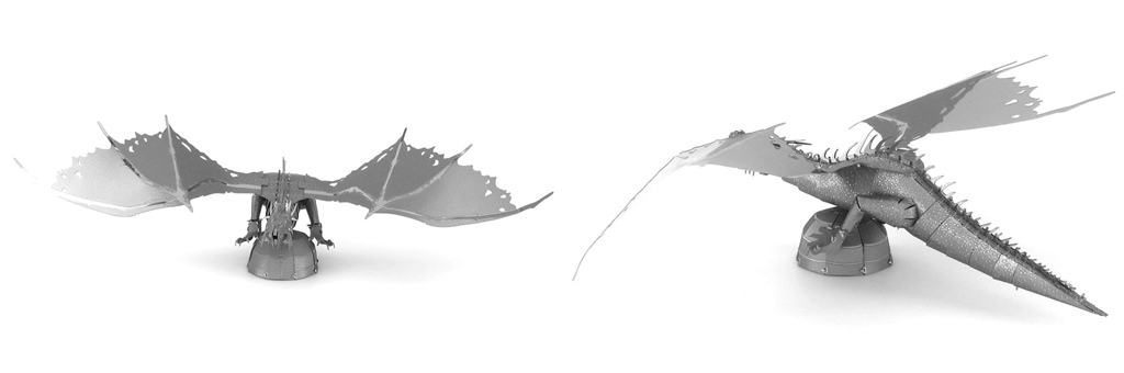 Конструктор MCG Model Гринготтс дракон 70016