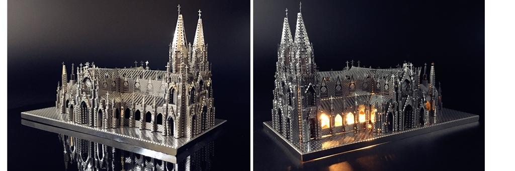 Конструктор MCG Model Церковь Святого Патрика 70025