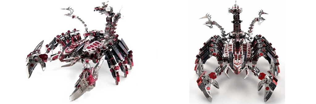 Конструктор MCG Model Дьявольский скорпион 70030