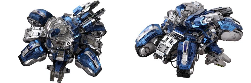 Конструктор MCG Model StarCraft II осадный танк 70039