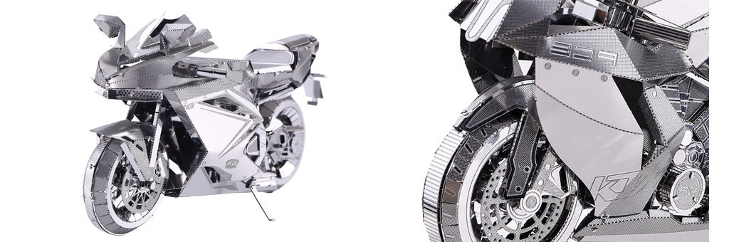 Конструктор Piececool Мотоцикл 70048