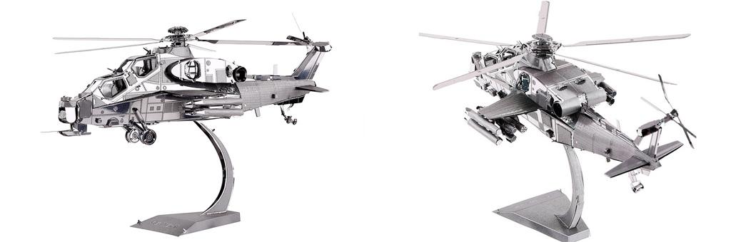 Конструктор Piececool Вертолет 70049