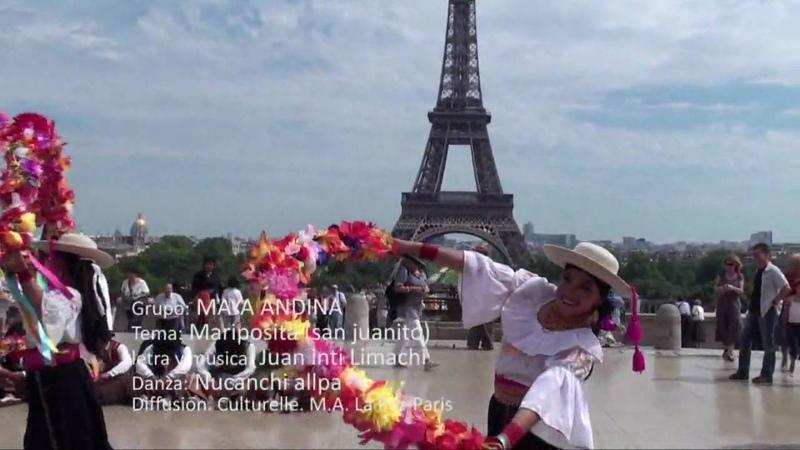 MAYA ANDINA Mariposita ÑUCANCHI ALLPA en Francia