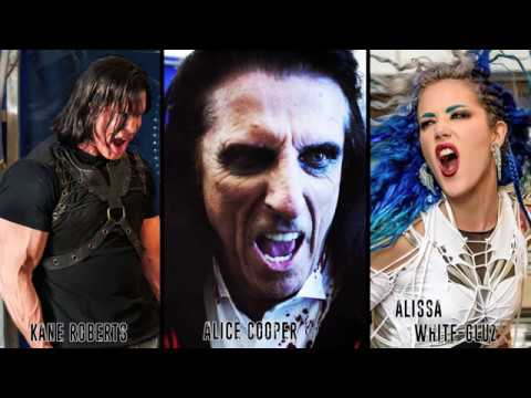 Kane Roberts Beginning Of The End feat Alice Cooper Alissa White Gluz Official Music Video