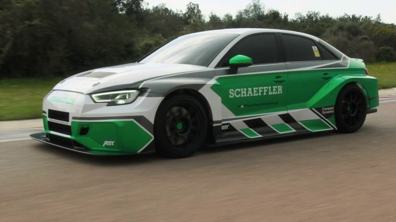 """Schaeffler 4ePerformance"""" concept vehicle Schaeffler"""