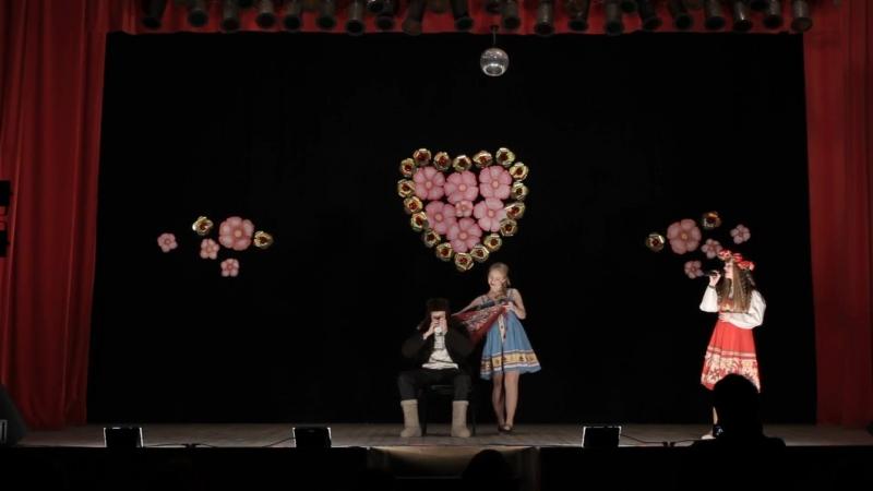 Анастасия Дмитриева - Сидел Ваня. Сюрприз - Виктория Фёдорова и Иван Юринов. ДК г. Невель