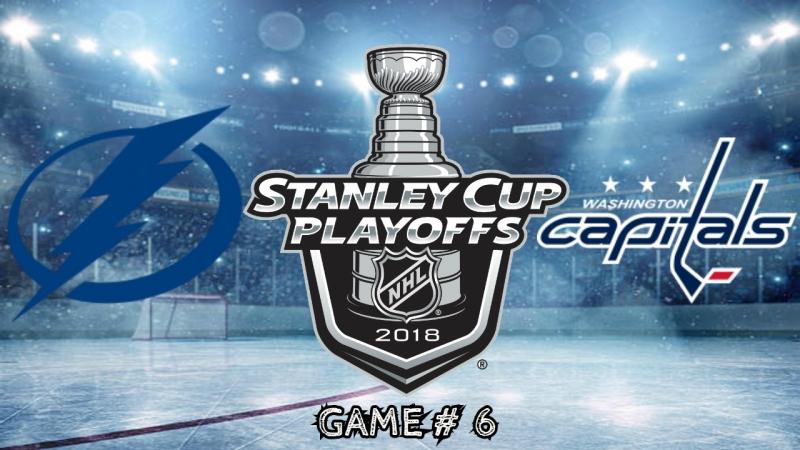 Tampa Bay Lightning vs Washington Capitals | 21.05.2018 | EC Final | Game 6 | NHL Stanley Cup Playoffs 2018