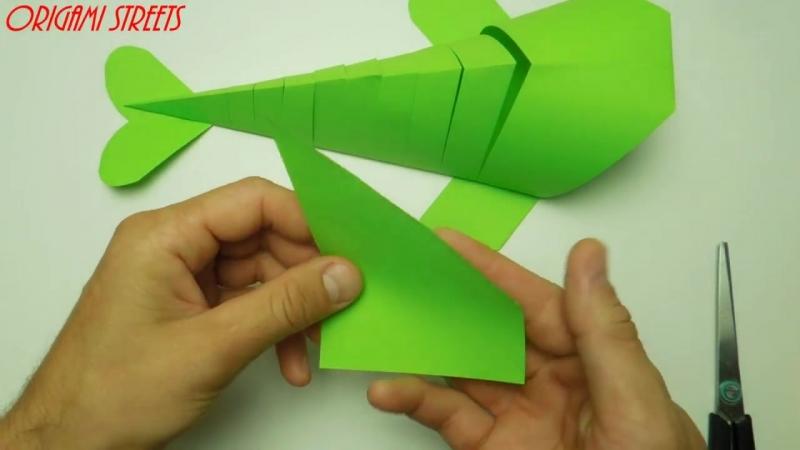 Как сделать рыбу и бумаги. DIY