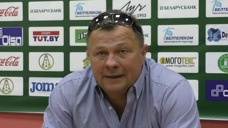 Дняпро (Магілёў) - Нёман (Гродна) / 17.08.2018 / прэс-канцерэнцыя