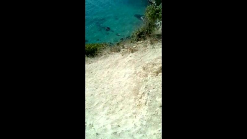 Спуск на пляж Маяк.Фиолент