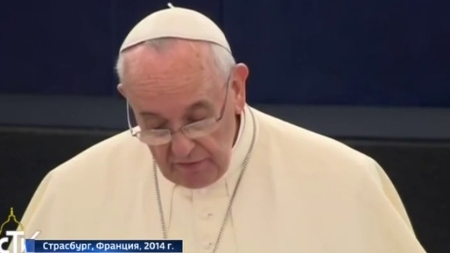 Меркель заявила, что не помнит спор с Папой о бесплодии Европы