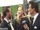 Emmys Run-In! 'Handmaid's Tale's Joseph Fiennes Congratulates Pregnant Co-Star Yvonne Strahovski