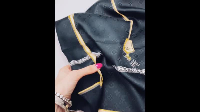💣шёлковый платок 100*100 ☑️ЦЕНА 1100₽