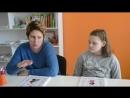 Мама Надежда и дочь Аня в гостях у школы iQ007