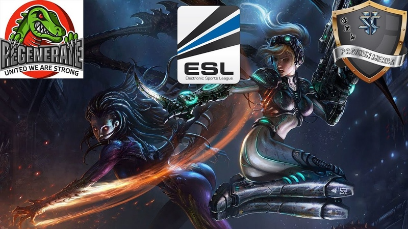 ESL League Passion Mercs vs. REGENERATE eSports