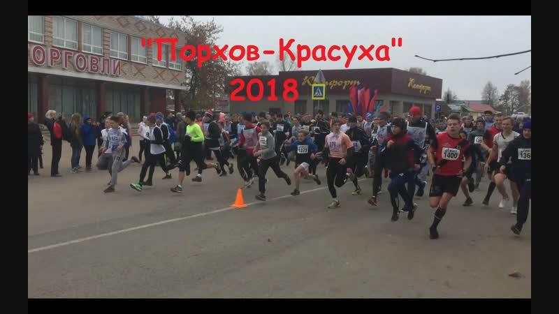 Открытый 40 Чемпионат Псковской области по бегу на шоссе Порхов - Красуха, посвященный памяти жертв фашизма