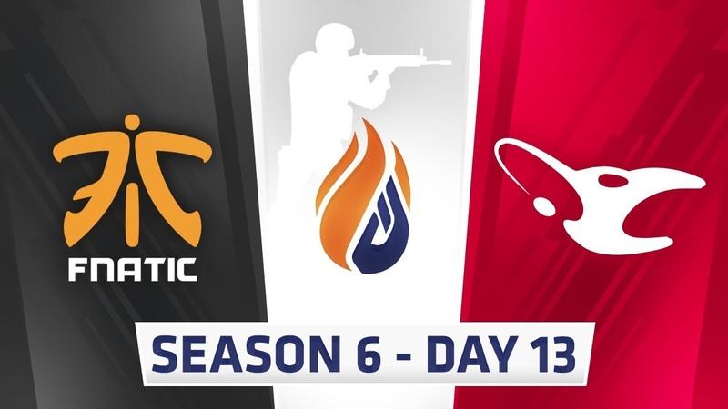 ECS S6 Day 13 - Fnatic vs Mouseports NRG vs Rogue, NRG vs LG